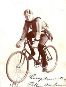 Tillie Anderson Champion  ~ Ladies Six-Day Bicycle Races 1895-1902