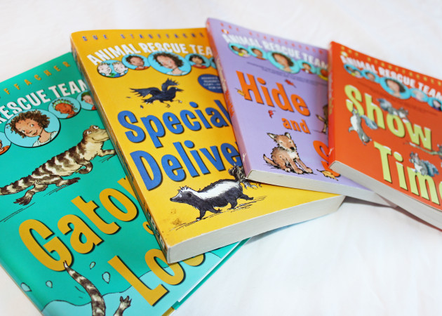 Check out all four Animal Rescue Team novels!